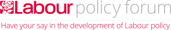 Labour Party policy forum logo